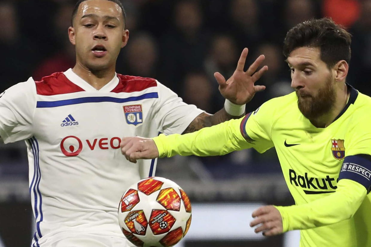 Image result for lyon barça