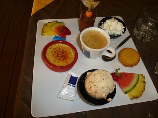 Le Grill  - café gourmand -
