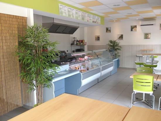 Sandwicherie/saladerie La Fleur de l'Hortus  - interieur -