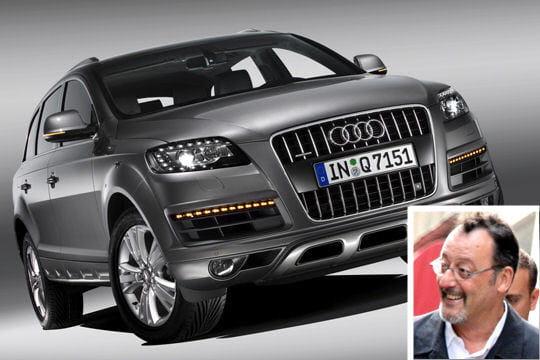 Jean Reno roule en Audi Q7
