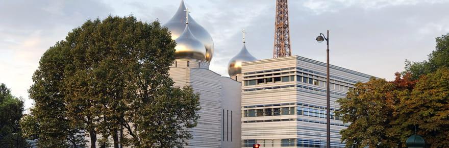Une nouvelle église orthodoxe russe au pied de la TourEiffel