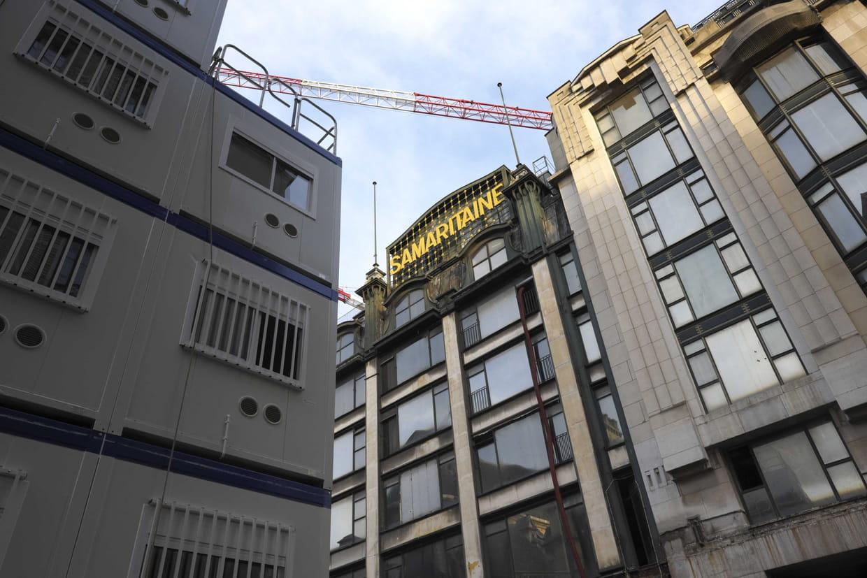 Un braqueur armé en fuite, le chantier de la Samaritaine évacué — Paris