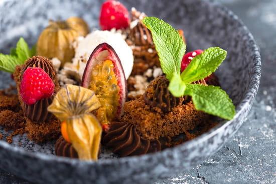 Dessert : Le Boho  - Dessert du jour tout chocolat -   © lebohogrenoNoémie Gervais Photographie