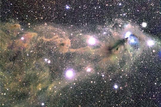 Queue de constellation