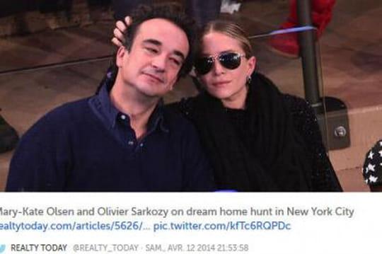 Olivier Sarkozy : l'idylle avec Marie-Kate Olsen