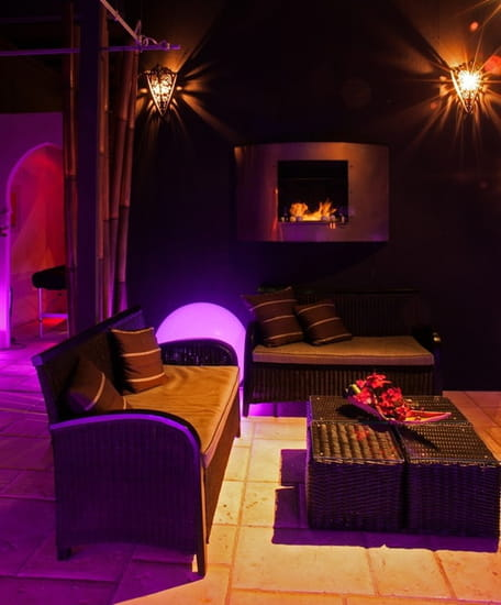 Lounge and Spa  - Cheminée -
