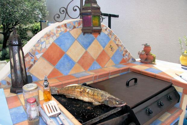 Les plus beaux barbecues des lecteurs for Fabrication barbecue exterieur