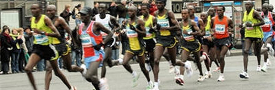 Le marathon de Paris 2012 en images