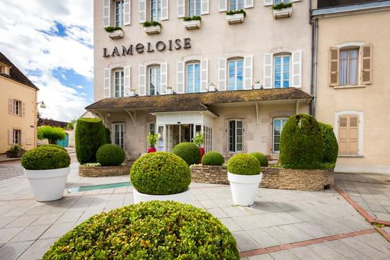 Entrée : Maison Lameloise  - Lameloise façade -   © Flore DERONZIER