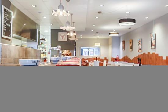 Restaurant : Le Renard et la Galette  - salle -   © RELG