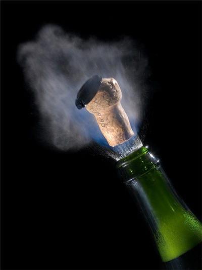 toute fête digne de ce nom s'accompagne de champagne.
