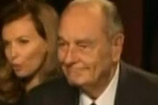 Jacques Chirac : affaibli et fatigué aux côtés de François Hollande