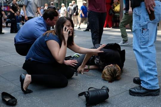 New York: à Times Square, la piste de l'attentat s'éloigne