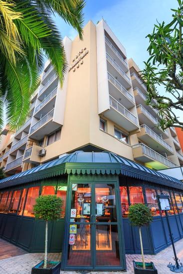 """Le 5, restaurant de l'Hôtel Méditerranée Menton***  - Restaurant le """"5""""  -   © Quality Hotel Menton Méditerranée"""