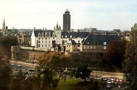 L'extérieur du château des Ducs de Bretagne