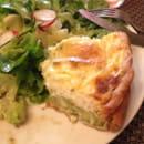 Plat : Au Moulin à Café  - Tarte légumes et chevre -