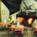 Hostellerie de Saint Front  - Cheminée du Café de Pays -