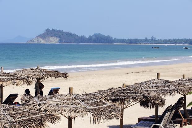 La plage de Ngapali au Myanmar