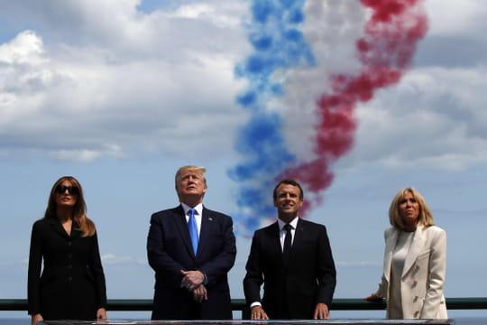 Débarquement en Normandie: Macron rend hommage au commando Kieffer