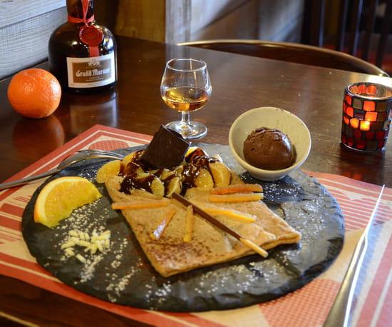 Dessert : Le Chalet  - Crêpe du mois -   © Laurent