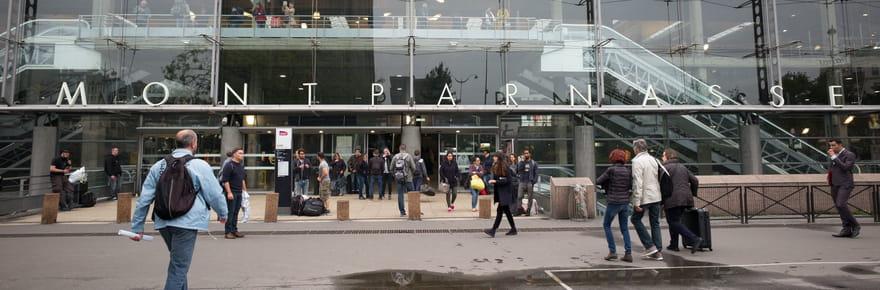 Trafic SNCF: retour à la normale pour la circulation des trains à Montparnasse