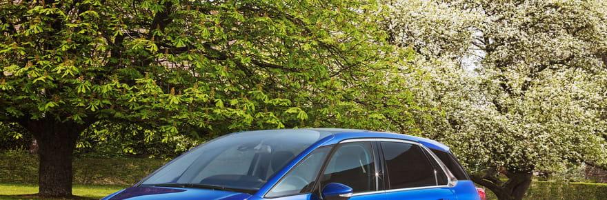 Le Citroën C4 Picasso restylé en images