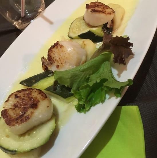 Plat : Bistronomi'k  - Saint Jacques  -