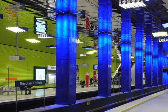 Métro de Munich: station Freiheit