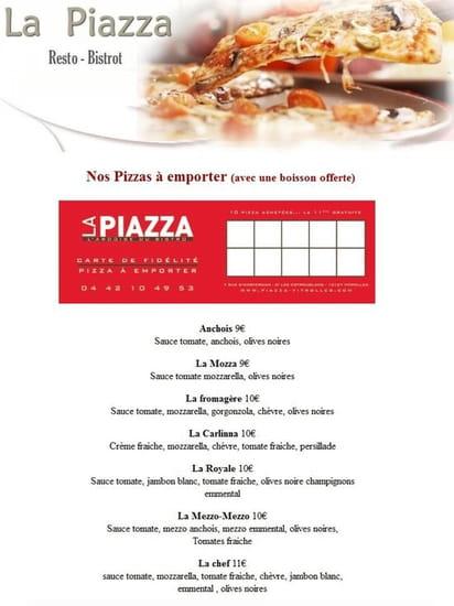 La piazza l'Ardoise du Bistro  - Nos pizza a emporter -   © Bassata carlo