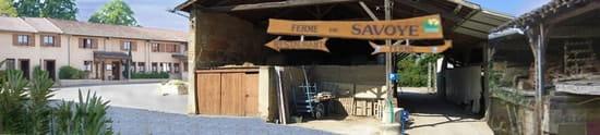 Auberge de Savoye  - Vue de l'ensemble FERME de SAVOYE -   © ADDSite web