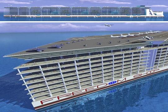 Freedom Ship: proche de la science-fiction
