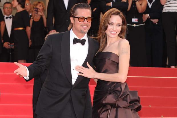 Brad Pitt et Angeline Jolie
