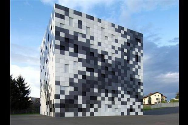Larchitecture Aussi Sintéresse Au Pixel Art