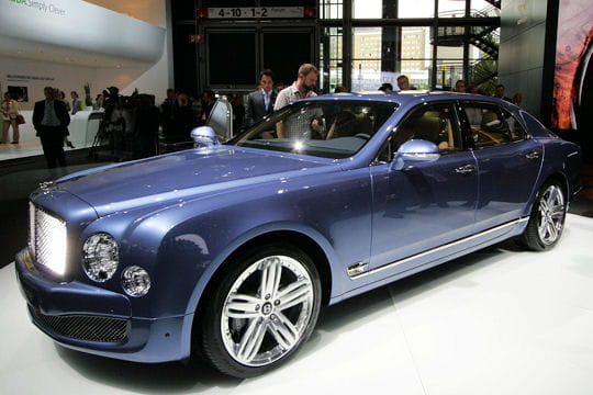Francfort 2009: Bentley Mulsanne