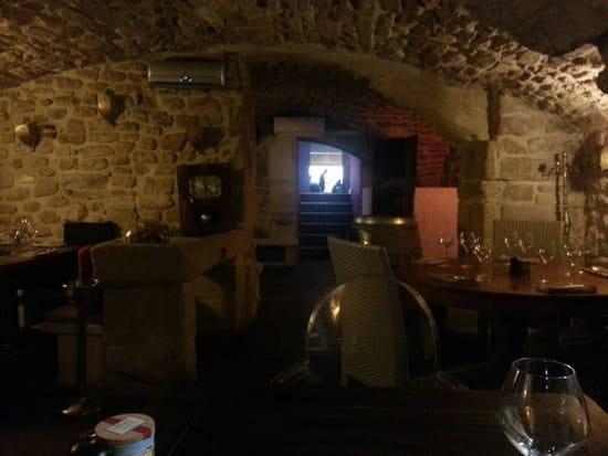 Restaurant : Le Nulle Part Ailleurs  - Sympas le style de voûte -