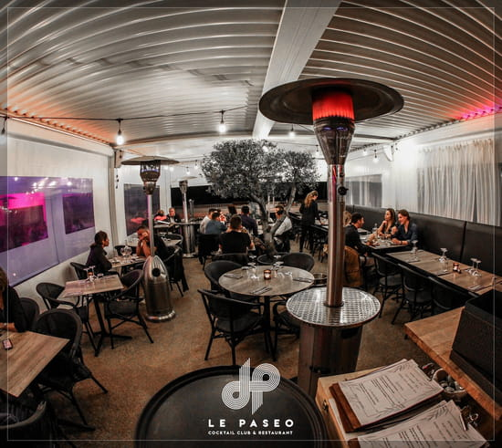 Restaurant : Le Paseo - Cocktail club & restaurant (Ex : LE SUD)  - terrasse vue mer -   © Le Paseo - Restaurant