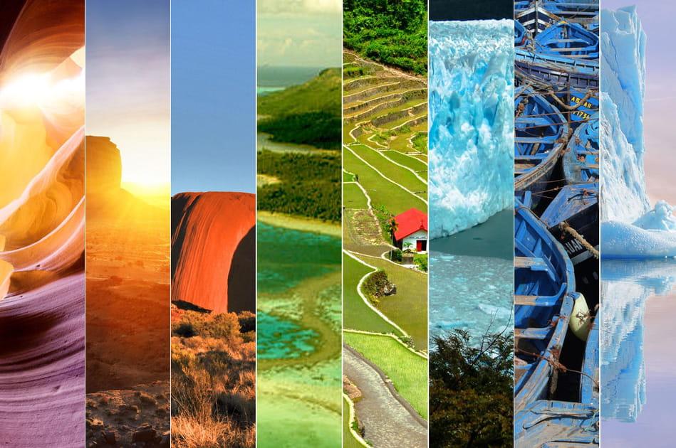 Une planète de toutes les couleurs