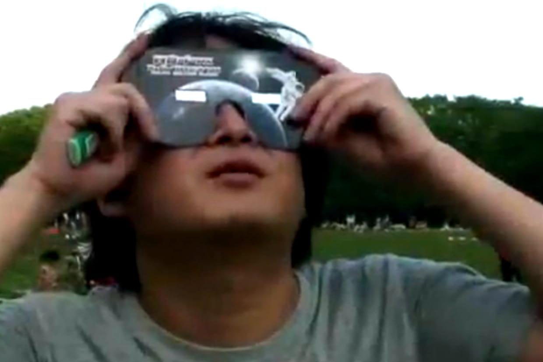 Lunettes pour l éclipse solaire   comment faire sans 84b003c430fe
