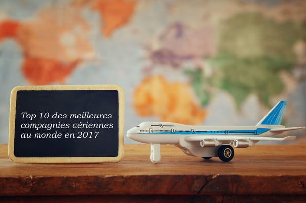 Top 10des meilleures compagnies aériennes au monde en 2017