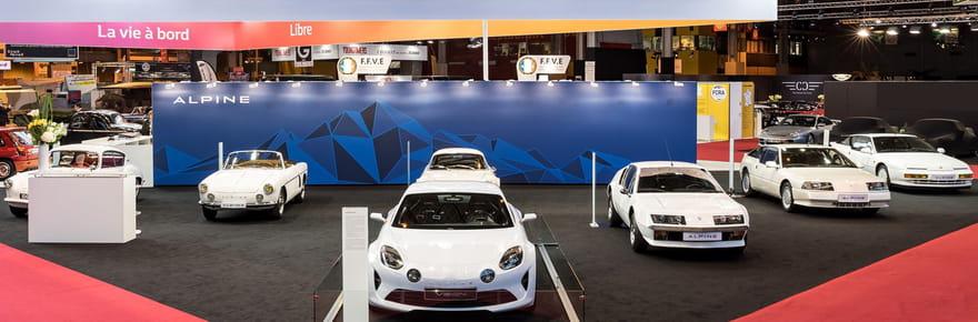 L'exposition Alpine à Rétromobile en images