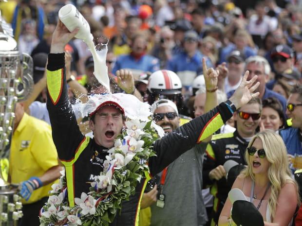 Les plus belles images de la victoire historique de Simon Pagenaud à Indianapolis