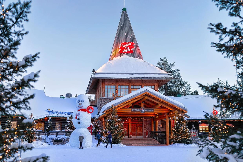 Village du Père Noël : activités, prix Visitez le lors d'un