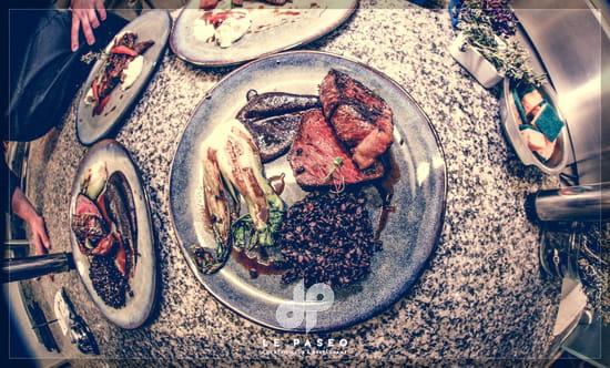 Plat : Le Paseo - Cocktail club & restaurant (Ex : LE SUD)  - Boeuf -   © Le Paseo - Restaurant