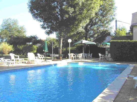Le Relais des Gourmands  - la piscine -   © gerard curtet