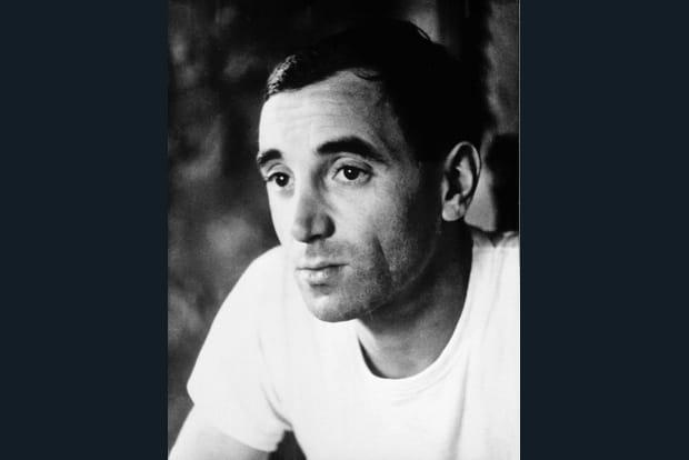 Charles Aznavour à 36ans