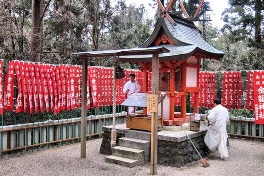 Des kamis et des moines