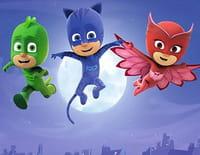 Les Pyjamasques : Yoyo, Gluglu et le robot Dingo. - Bibou et l'animal de compagnie