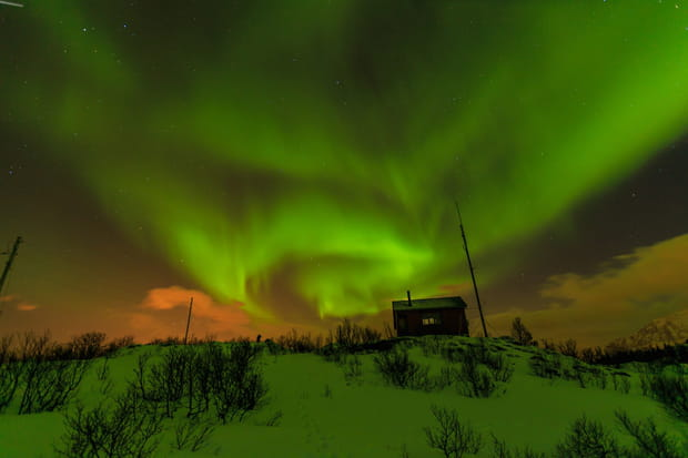 La chasse aux aurores boréales en Norvège