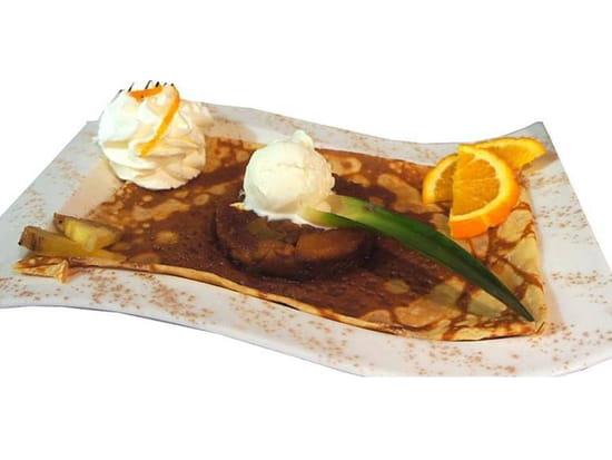Dessert : LE TY SKORN  - Le Ty Skorn crêperie restaurant à Cancale / La préférée de la patronne -   © Le Ty Skorn crêperie restaurant à Cancale