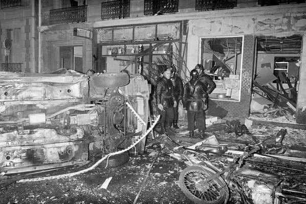 Attentat à Paris rue Copernic